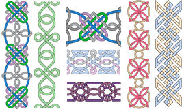 Braided patterns Stock Photos