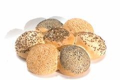 Braided rolls Stock Image