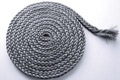 Braided rope roll Stock Photography