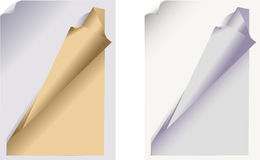 The braided sheet of paper Royalty Free Stock Photos