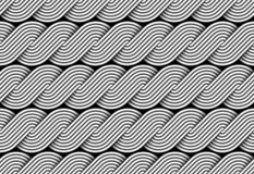 Vector braided spin fiber seamless pattern. vector illustration