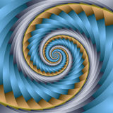 Braided spiral Royalty Free Stock Images