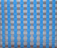 Braided textured plastic background Royalty Free Stock Photo
