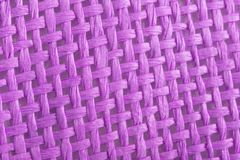 Braided violet canvas Royalty Free Stock Image