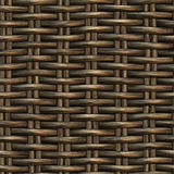Braided wicker background Royalty Free Stock Photography
