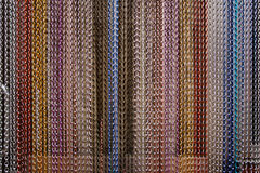 Braided Wire Hanging Curtain Royalty Free Stock Image