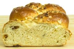 Braided yeast bun Stock Image