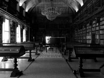 Braidense-Bibliothek in Mailand Stockbilder