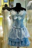 Braidesmaid's dress stock photography