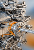 Braidiing machine closeup. Stock Photo