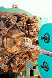 Braidiing machine closeup. Stock Photography