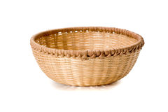 Braiding basket Stock Photo