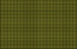 Yellow Black Woven Basketweave Abstract Background. Braiding of horizontal and vertical stripes creates a basket weave pattern with a chartreuse yellow Vector Illustration