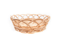 Braiding small basket Stock Photos