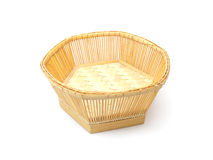 Braiding small basket Stock Image