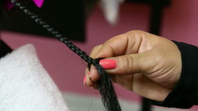 Braiding Weave stock video