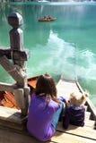 braies di lago Стоковое Изображение