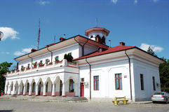 Braila Civil Port Station Royalty Free Stock Image