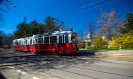 Braila - Old tram royalty free stock images