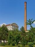 Braila, Romênia, o moinho de farinha de Violattos em Braila fotos de stock royalty free