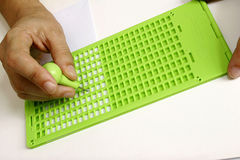 Braille Royalty Free Stock Image