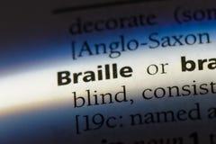 braille Zdjęcia Stock
