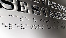 braille Arkivfoton