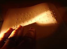 Braille Royalty Free Stock Photography