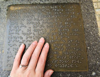braille Photos stock