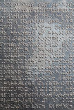 Braille Stock Image