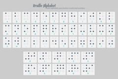 Braille four Royalty Free Stock Photo