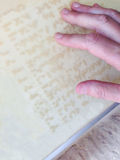 Braille information board Royalty Free Stock Photo