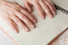 Braille language Royalty Free Stock Photography