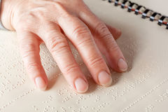 Braille language Royalty Free Stock Image