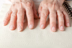 Braille language Stock Photos