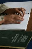 Braille quran (koran) Stock Photos