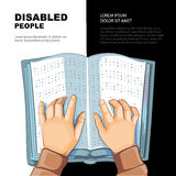 Braille's book Royalty Free Stock Photos