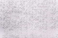 Braille Royalty Free Stock Images
