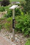 braille tecken Fotografering för Bildbyråer
