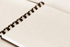 Braille-tekst Royalty-vrije Stock Afbeelding