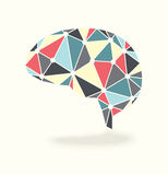 Brain Activity Abstract Vector Imagen de archivo