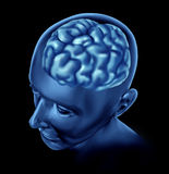 Brain activity intelligence Stock Image