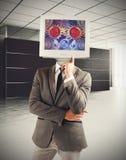 The brain as a machine Stock Photo