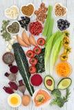 Brain Boosting Health Food arkivbilder