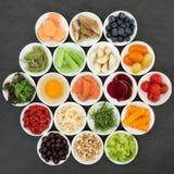 Brain Boosting Health Food arkivfoton
