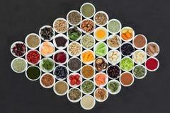 Brain Boosting Healthy Super Food stockfotos