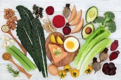Brain Boosting Super Food royaltyfri fotografi