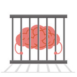 Brain cage Stock Photo