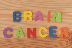Brain Cancer fotografie stock