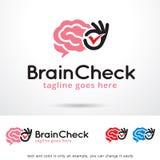 Brain Check Logo Template Design Vector Stock Photos